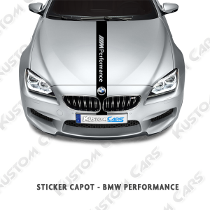Sticker capot M performance BMW