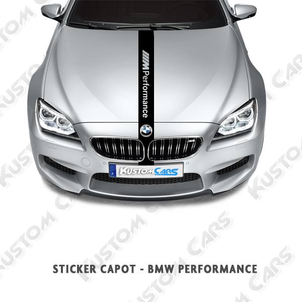 BMW – Bande Performances capot