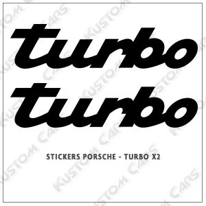 logo porsche turbo