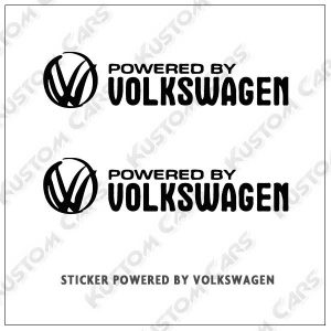 powered by volkswagen