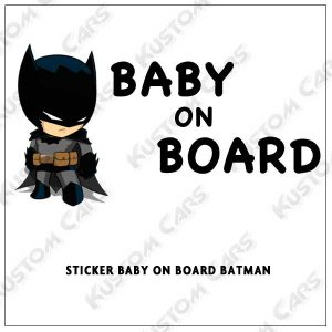batman baby on board