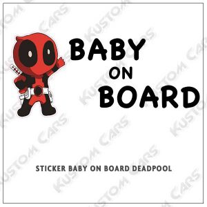 deadpool baby on board