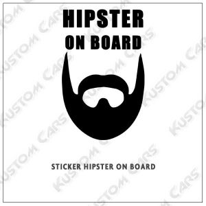 hipster on board