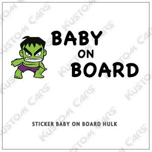 hulk baby on board