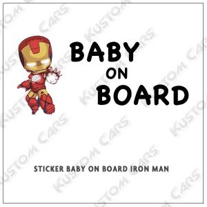 iron man baby on board