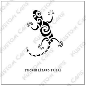 lézard tribal