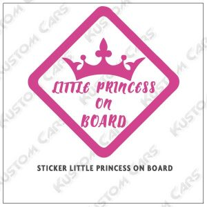little princess on board