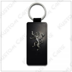 Porte clés Lannister maison game of thrones cuir